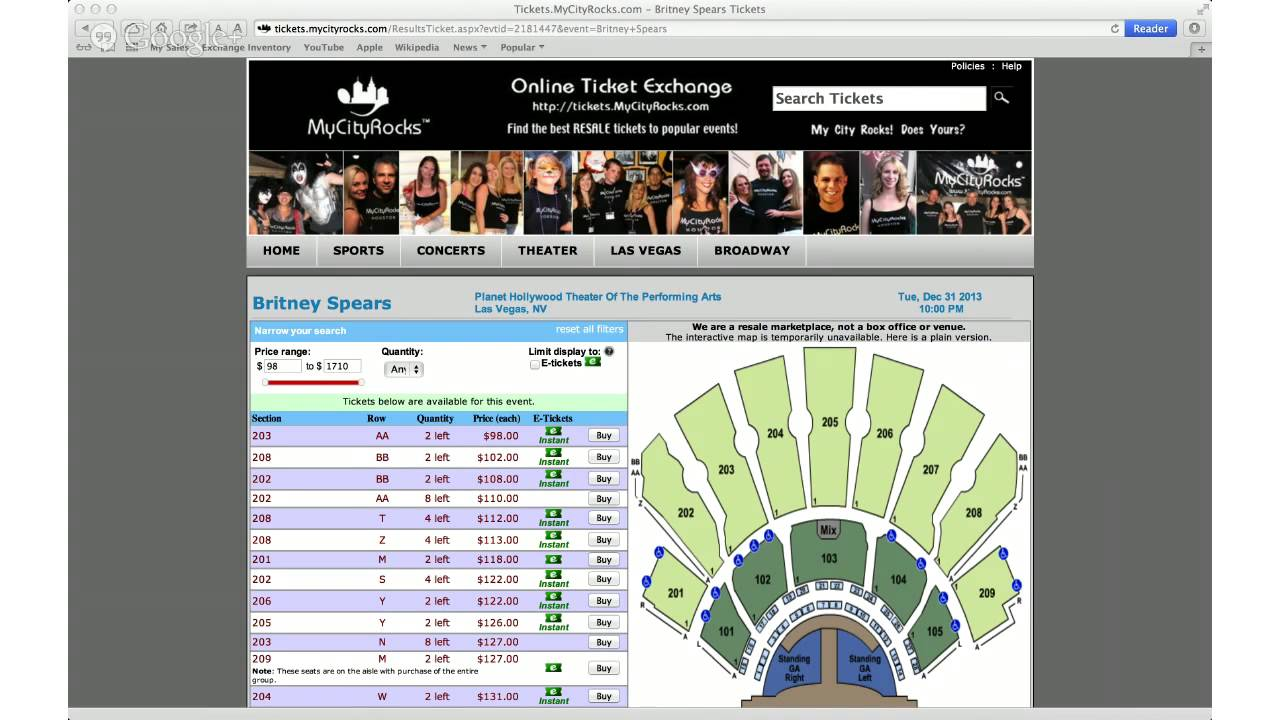 Britney spears tickets las vegas nv planet hollywood theatre of the performing arts also rh youtube