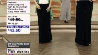Artizan by Robin Barre Dress For Success Maxi Skirt on Shopping Channel Thumbnail