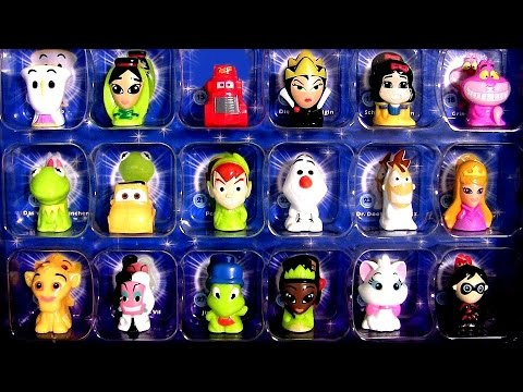 Disney Wikkeez Collector's Box and Surprise Blind Bags Frozen Olaf Phineas Ferb, Cars Mack Truck