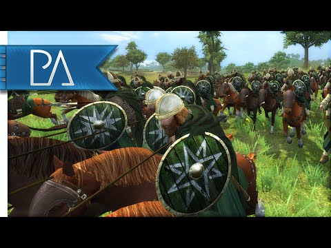 ROHAN CALLS FOR AID - Third Age Total War Gameplay