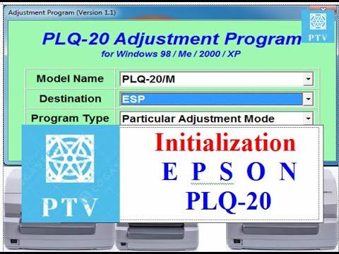 cara perbaiki,printer tidak narik kertas,epson PLQ-20,EEPROM Initialization