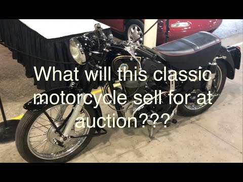 Big Risk! Taking a classic motorcycle to an Auction with no reserve