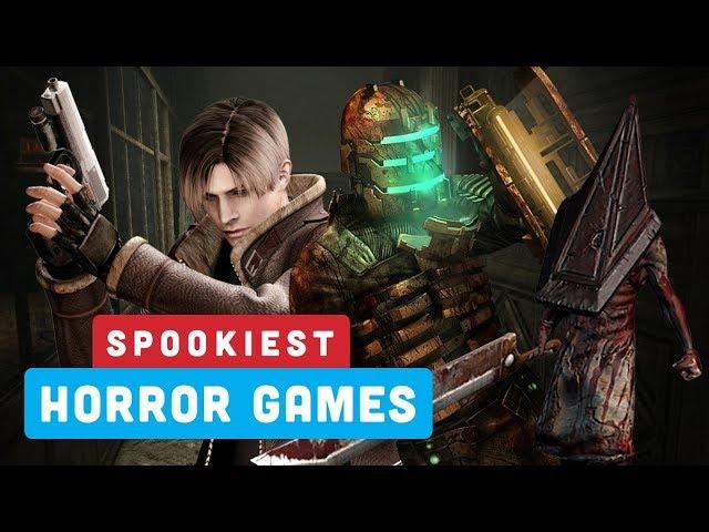 Seus Jogos de Terror Mais Assustadores - Ranking de Poder + vídeo