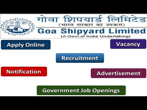 Goa Shipyard Recruitment Apply Online Notifications Careers