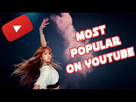 MOST POPULAR KPOP GROUPS ON YOUTUBE