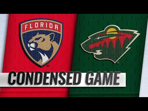 12/13/18 Condensed Game: Panthers @ Wild