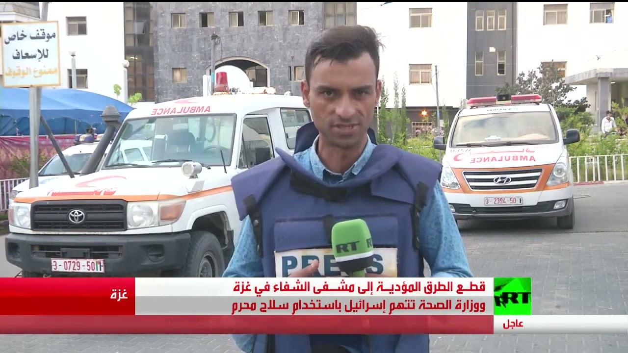 غارات إسرائيل تقطع الطرق إلى مشفى الشفاء في غزة