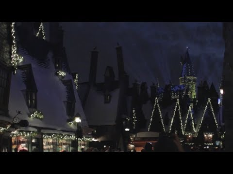 Christmas in The Wizarding World of Harry Potter Sights & Sounds 2017, Universal Orlando Resort