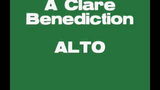 A Clare Benediction ALTO