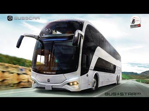 Conheça o novo DD da Busscar de Colombia - Bus Star DD S1