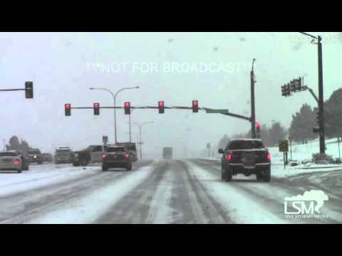 2-1-16 Colorado Springs, CO Heavy Snow