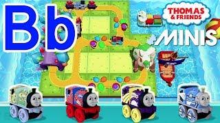 Bb — تعلم أبجديات مع توماس والأصدقاء الثياب ★ بناء الخاصة بك رسالة ''B'' مسار القطار!
