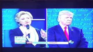 Donald Trump Grab Them By The Pussy Billy Bush Video Locker Room Talk, He Says #debate