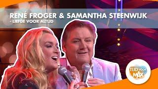 René Froger & Samantha Steenwijk  zingen nieuwe single Liefde voor altijd