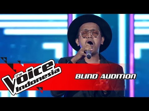 Derry Aksera - I'll Make Love To You | Blind Auditions | The Voice Indonesia GTV 2018