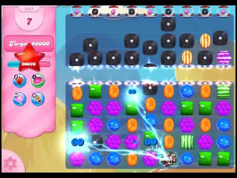Candy Crush Saga Level 2885 - NO BOOSTERS
