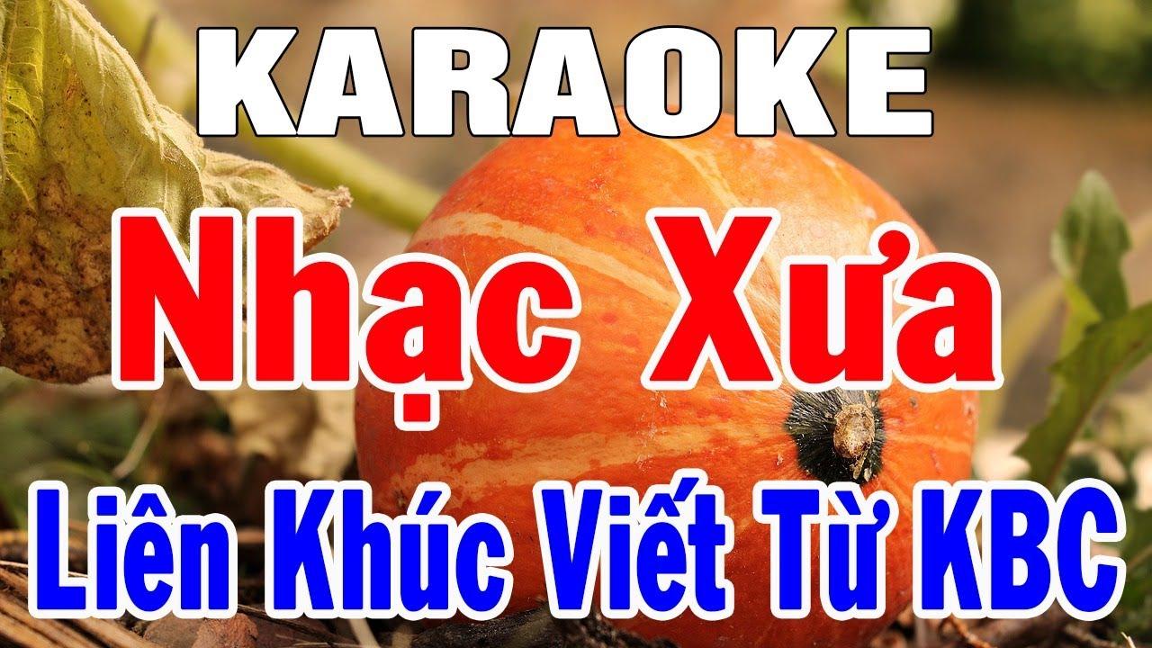 Karaoke Nhạc Sống Bolero Trữ Tình Sến Hòa Tấu | Liên Khúc Nhạc Xưa Hay Nhất | Trọng Hiếu