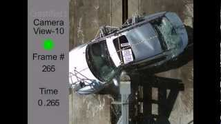 Honda Accord Sedan | 2013 | Pole Crash Test | NHTSA | CrashNet1