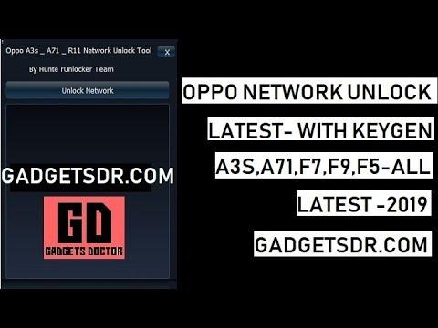 All Oppo Network unlock tool with Keygen - FREE