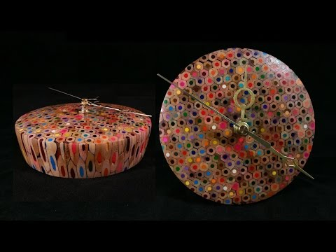 Woodturning with Tim Yoder- Colored Pencil Clock