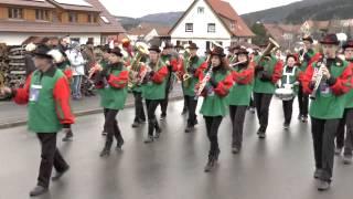 Jubiläumsumzug Weilen u d R am 08.02.2014