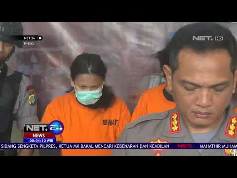 Polisi Tangkap Pasangan Suami Istri Pengedar - Narkoba NET 24