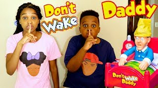 DON'T WAKE DADDY In Real Life! - Shasha and Shiloh - Onyx Kids