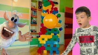 БУБА и Пирамида мамы из цветных кубиков