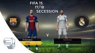 FIFA 15 Secession 17/18 Mod Moddingway 18.0.0