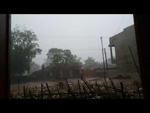Heavy Rain & Lightnings in Jamshedpur on 26.05.2017