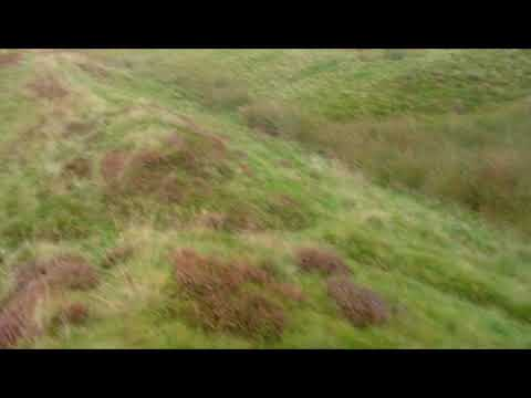 Rome in Scotland Palae-stina -Ardoch Fort Braco -Best exp of Roman earthwork ditch + rampart
