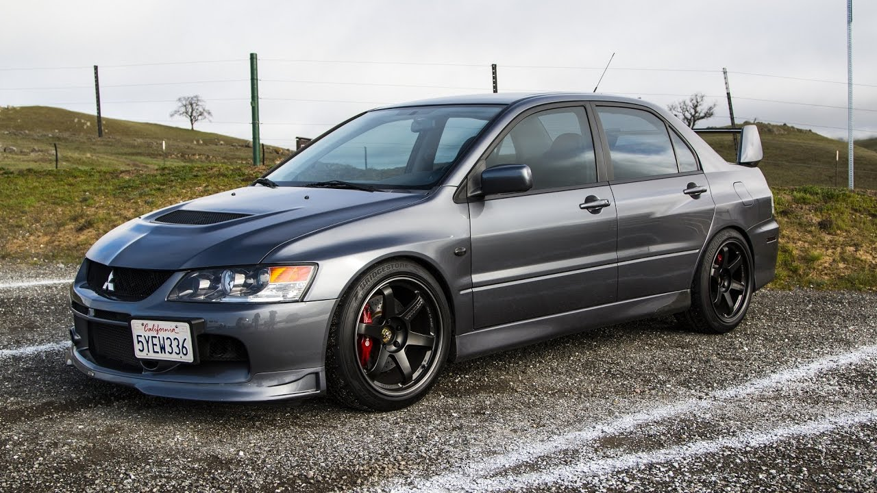 2006 mitsubishi evo ix mr review - the cheater car - youtube