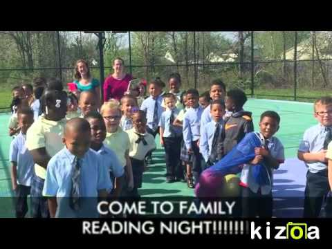 Heir Force Community School Family Reading Night Invite