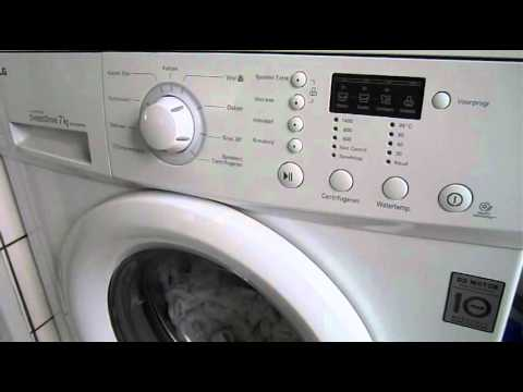 LG Washing machine tune
