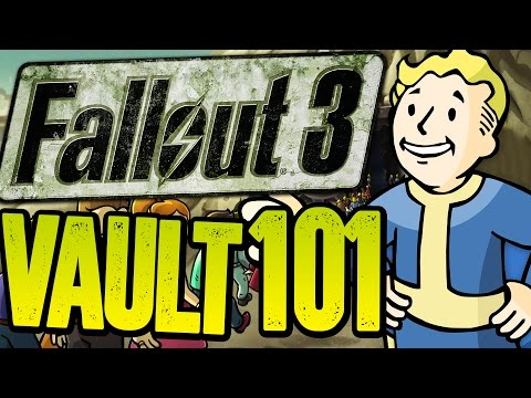 Fallout 3 - RETURNING TO VAULT 101 - Trouble On The Homefront  (Fallout 3 Funny Moments)
