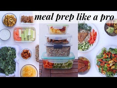 MEAL PREP HACKS for flexible healthy eating