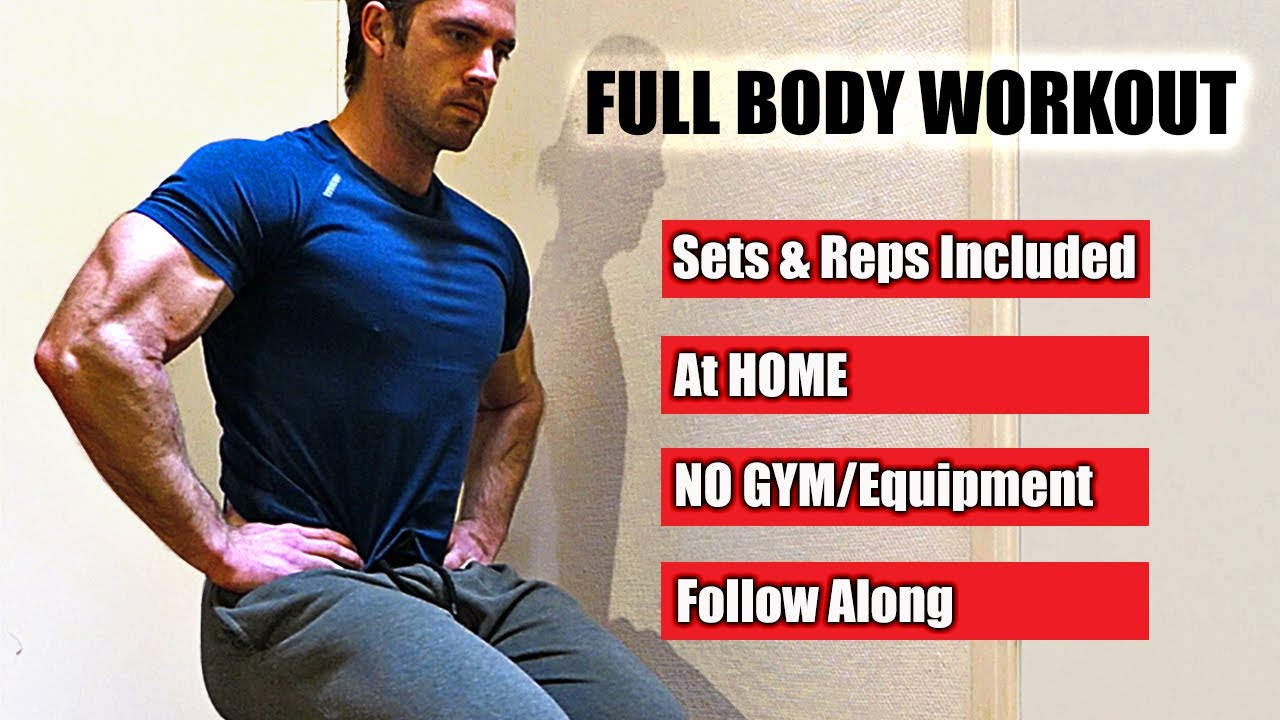 GREAT Workout with Limited Space/Equipment (FULL BODY | HOME | NO GYM) - Follow Along