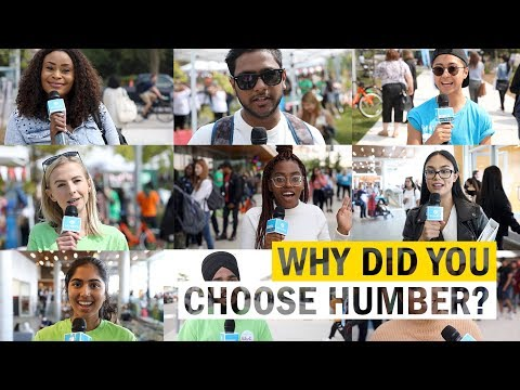 Why Did You Choose Humber?