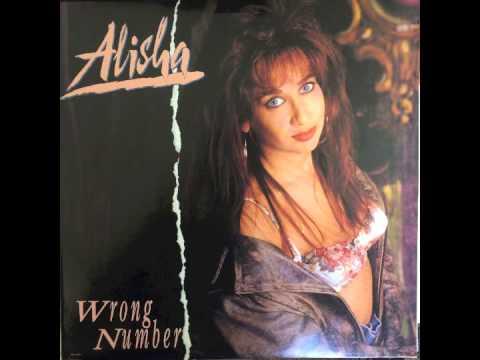 """Alisha - Wrong Number (7"""" Radio Edit) 1990"""