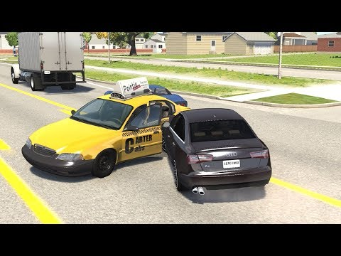 Realistic Car Crash Compilation 8 - BeamNG Drive