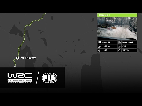 WRC - Rally Sweden 2017: The 18 Stages