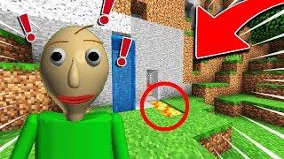 JE TROLL BALDI DANS SA BASE MINECRAFT !! *INCROYABLE* Minecraft