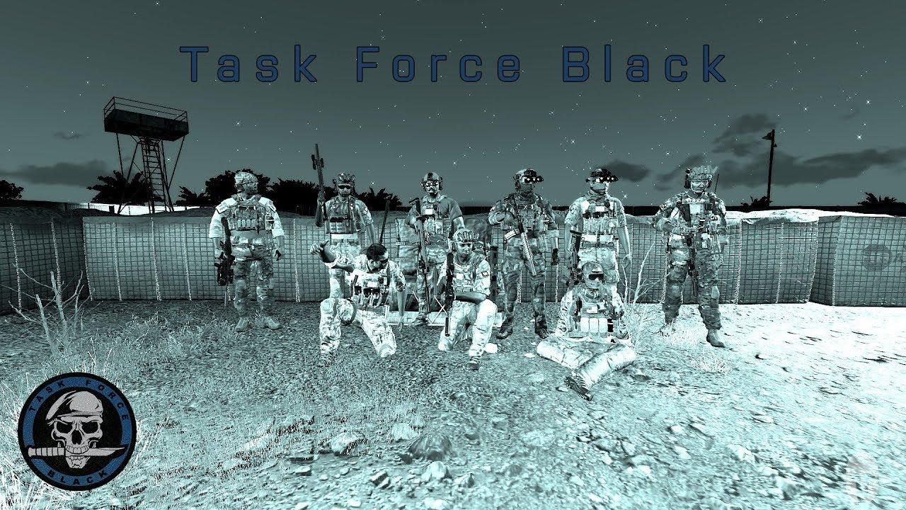 Task Force Black | DELTA/DEVGRU | Training Operation 01 | Arma 3 Realism  Unit