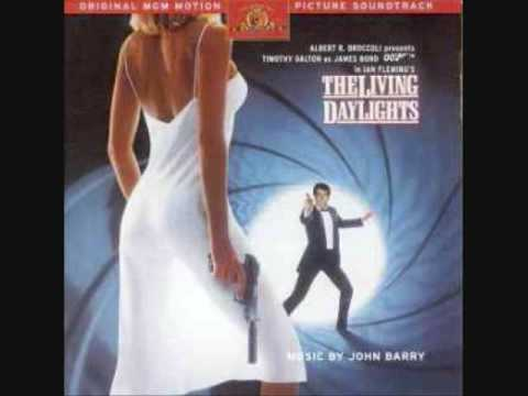 The Living Daylights movie score-John Barry