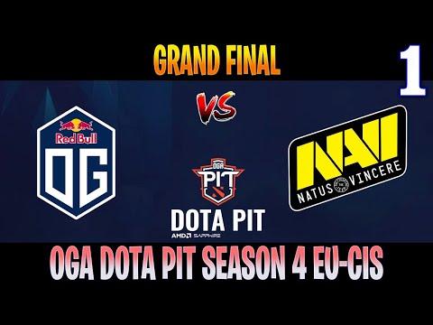 OG Vs NAVI Game 1 | Bo5 | Grand Final AMD SAPPHIRE OGA DOTA PIT S4 EU-CIS | DOTA 2 LIVE