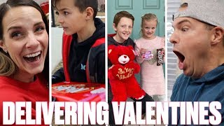 DELIVERING VALENTINES TO CRUSH | SPECIAL VALENTINE DELIVERY