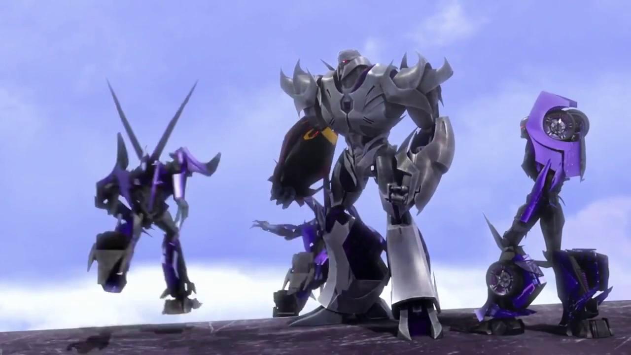 Transformers prime megatron kills steve and smokescreen escapes the warship youtube - Transformers prime megatron ...