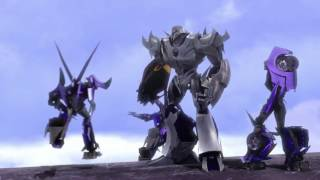 Transformers: Prime Megatron Kills Steve and Smokescreen Escapes The Warship