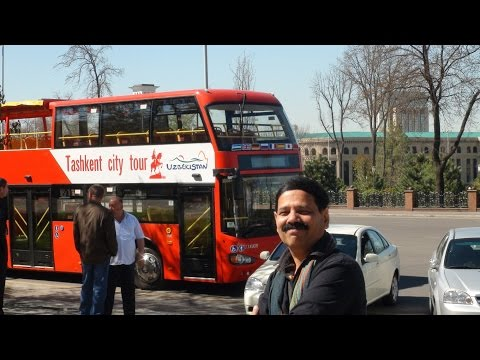 Tashkent tour by T N suresh kumar- The Great Indian traveller