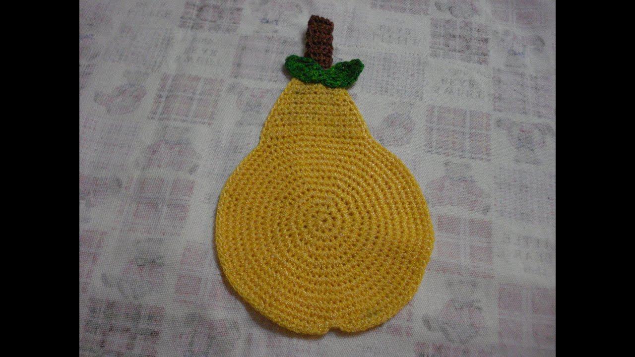 Pera tejida youtube - Manualidades a crochet paso a paso ...